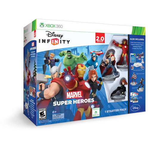 Disney Infinity: Marvel Super Heroes Special Value Pack (...