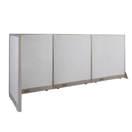 GOF L-Shaped Freestanding Office Panel Cubicle Wall Divider Partition 30D x 102W x 48H / Office, Room - Christmas Decor For Office Cubicle