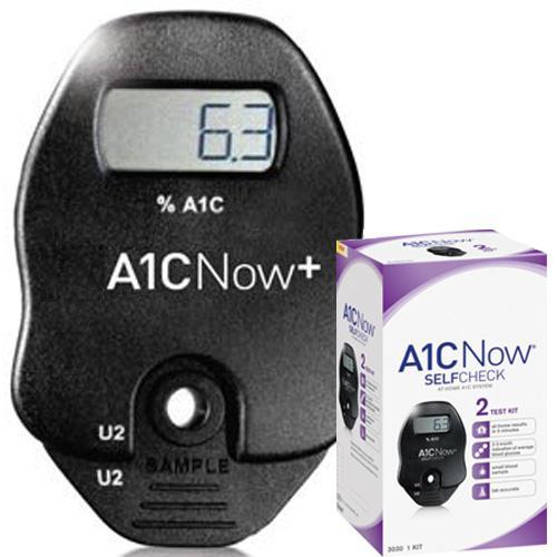 Image of A1CNow glycated hemoglobin - HbA1c - hemoglobin A1C Multi-test system 2 tests