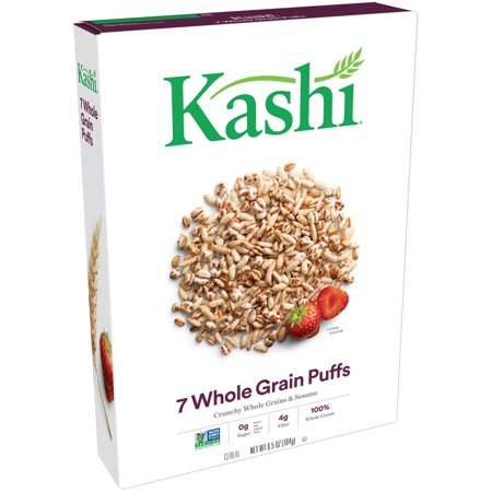 Kashi 7 Whole Grain Flakes ((2 Pack) Kashi 7 Whole Grain Non-GMO Breakfast Cereal, 6.5)