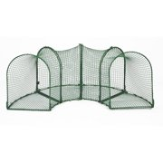 "Kittywalk Curves 4 Outdoor Cat Cage Enclosure, Green, 96"" x 18"" x 24"""