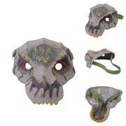 Cosplay Dinosaur Face Overhead Latex Costume Prop Scary Mask Toy
