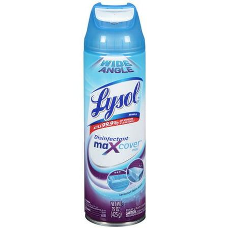 Lysol Max Cover™ Disinfectant Mist - Lavender Field 15 oz.