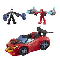 Playskool heroes marvel super hero adventures spider-man arachno racer