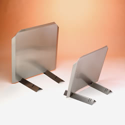 "Radiant Fireback, Stainless, 24""W X 24H"", 14-Ga. 304-Alloy"