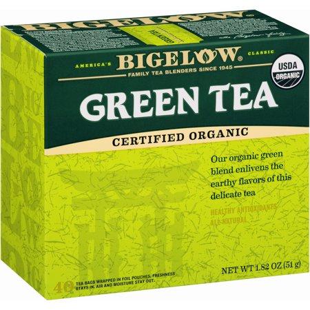 Bigelow ® vert biologique Thé 40 ct Boîte