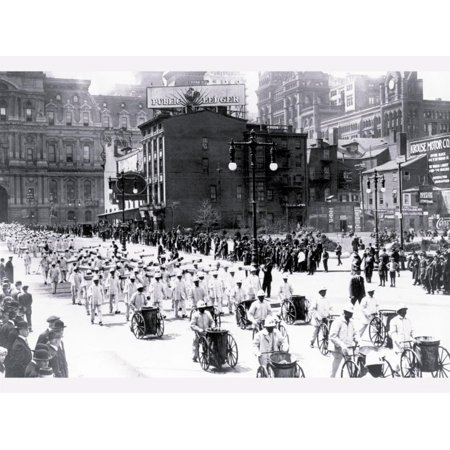 Parade Near City Hall Philadelphia Pennsylvania Print