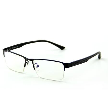 Cyxus Semi-Rimless Blue Light Blocking Computer Glasses Anti Eye ...