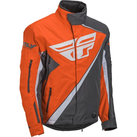 Fly Racing Youth Orange/Gray SNX Jacket Size Youth Small 470-4088YS