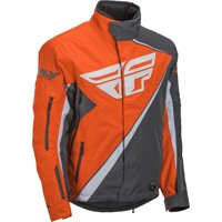 Fly Racing Youth Orange/Gray SNX Jacket Size Youth Large 470-4088YL