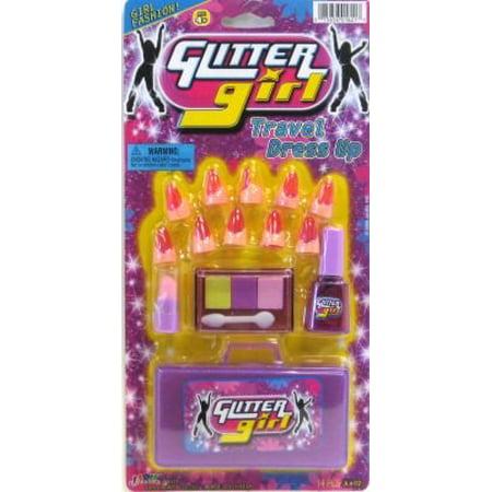 Ja-Ru Glitter Girl Travel Set (Pack of 6) (Glitter Girl And The Crazy Cheese)