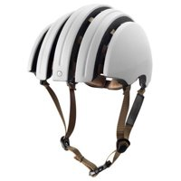 Brooks Carrera Packable - J.B. Collection Ivory/Black Foldable Helmet Size L