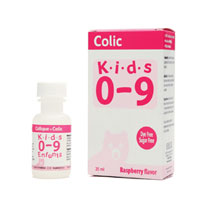 Homeolab USA 203760 Kids 0-9 Colic Liquid Raspberry 0.25 Fl Oz