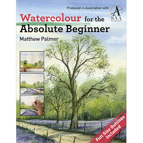 Search Press Books-Watercolor For The Absolute Beginner
