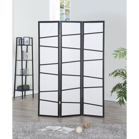 - Costway 3 Panel Screen Room Divider Wood Folding Freestanding Partition Privacy Screen