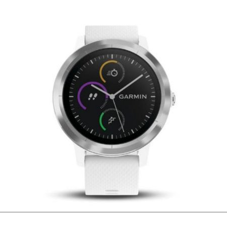 Garmin Vivoactive 3 White   Stainless
