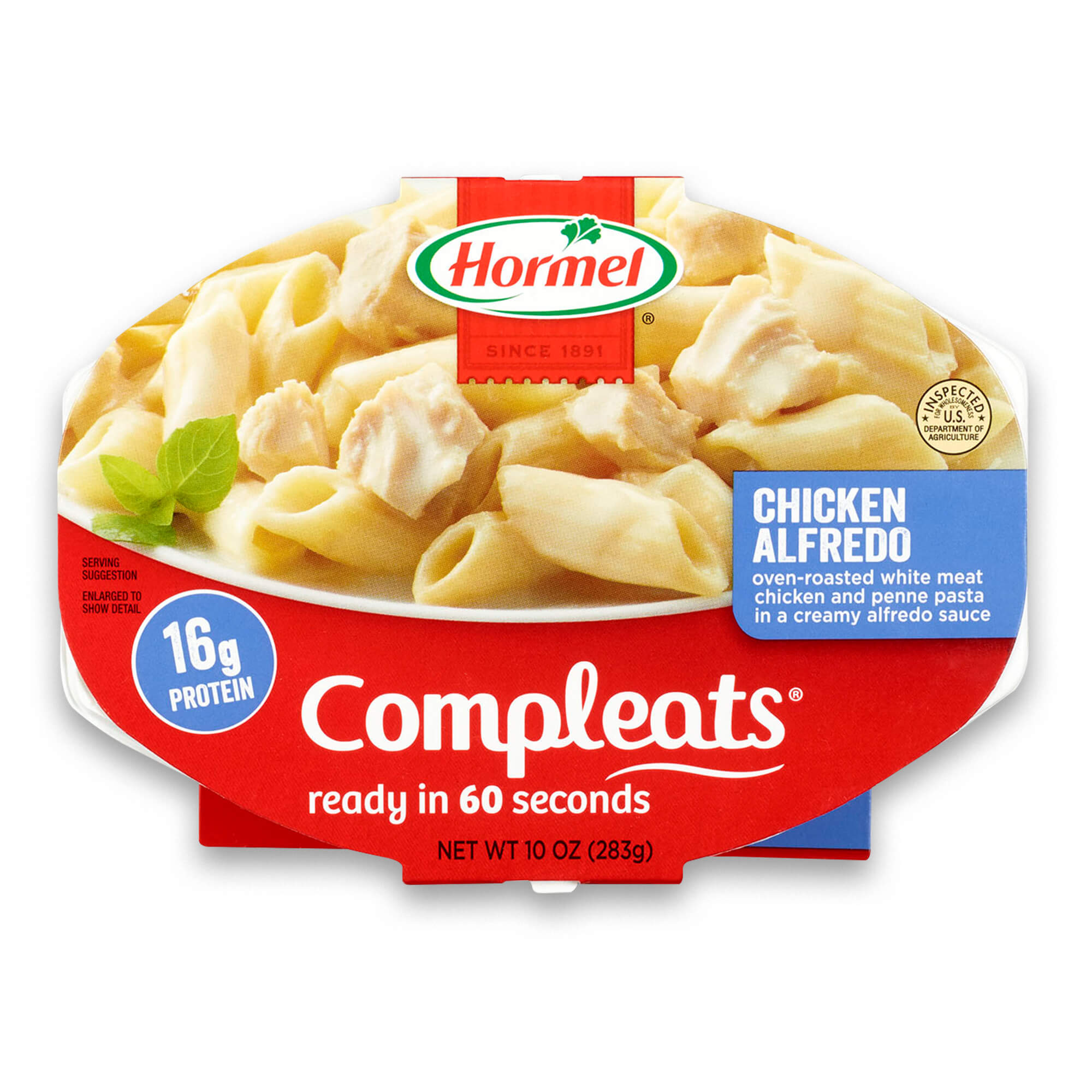Hormel Compleats Chicken Alfredo, 10 Ounce