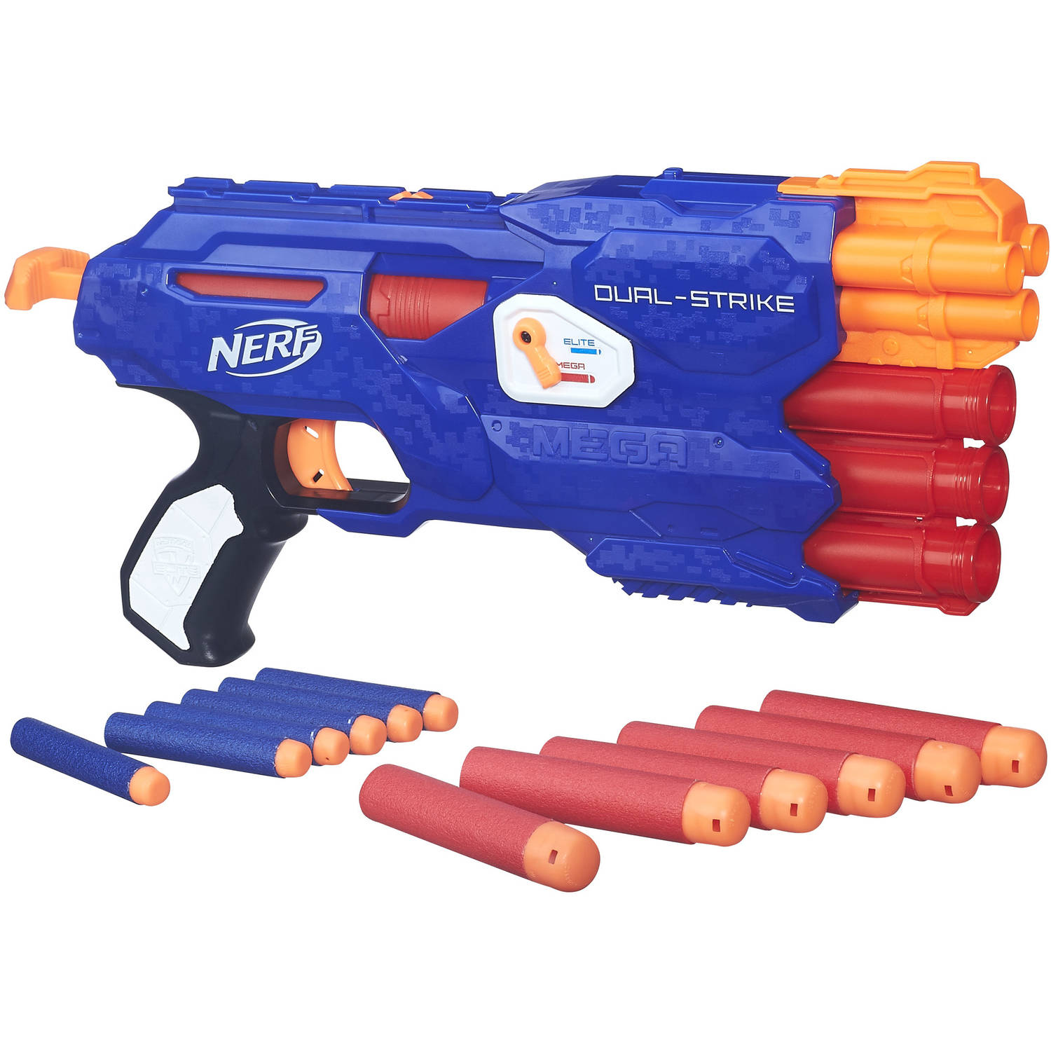 Nerf N-Strike Elite DualStrike Blaster Value Pack