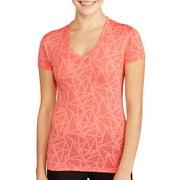 Avia-dtr Avia Women's Short Sleeve V Neck Perfoma