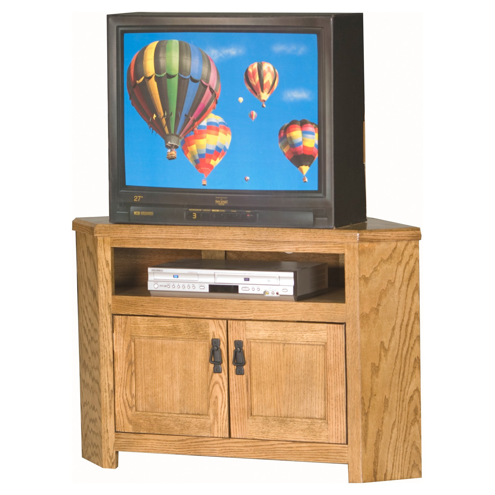 Eagle Furniture Mission 40 in. Corner Entertainment Center