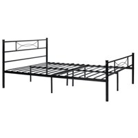Teraves Metal Platform Bed Frame and Headboard Twin Full Size