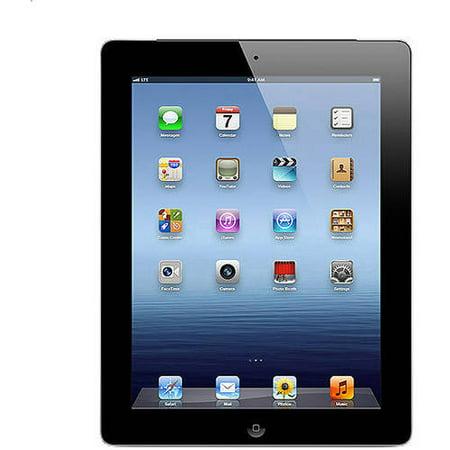 Refurbished Apple iPad 3rd Gen 64GB Black Cellular AT&T