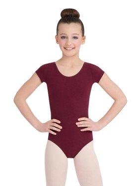 Short Sleeve Leotard - Girls