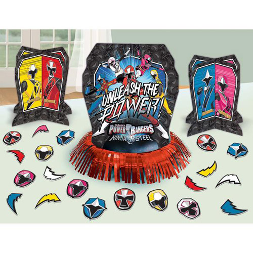 Power Rangers 'Ninja Steel' Table Decorating Kit (23pc)
