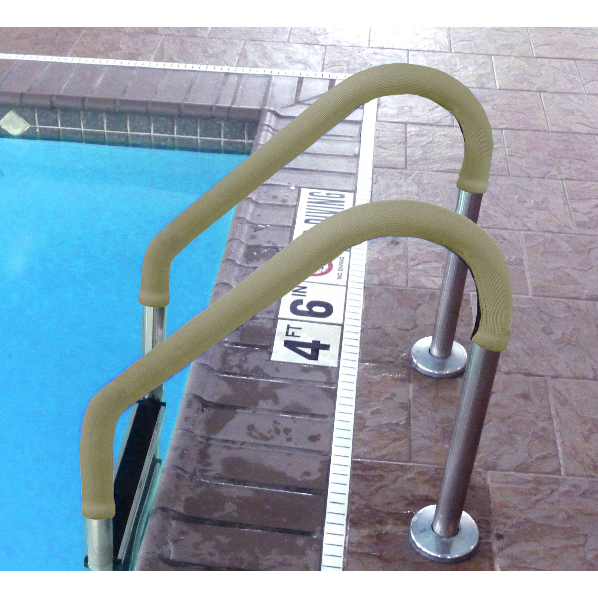 8' Grip for Pool Handrails, Tan