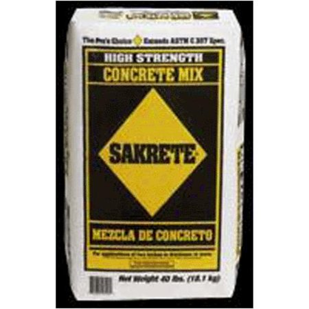 Sakrete Of North America 40LB Sakrete Concr Mix ()