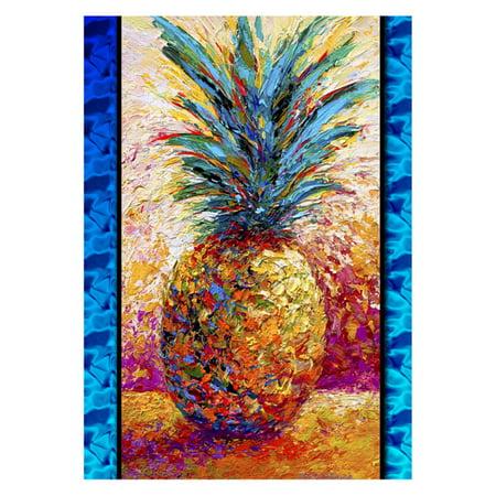 Pineapple Garden - Toland Home Garden Poppin Pineapple Flag