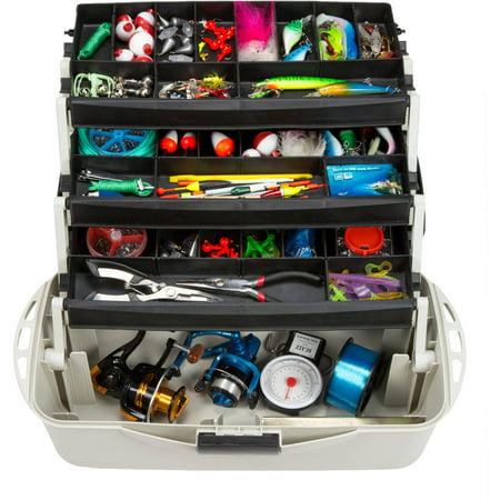 Wakeman Fishing 3 Tray Tackle Box Organizer 18