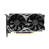 EVGA 6GB GeForce RTX 2060 KO Ultra Gaming Dual Fans Graphics Card, Black