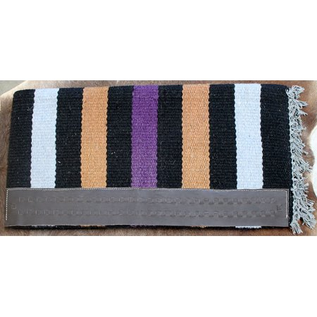 34x36 Horse Wool Western Show Trail SADDLE BLANKET Rodeo Pad Rug  36S692