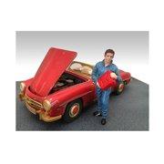 Mechanic Dan Figure For 1:18 Diecast Model Cars by American Diorama