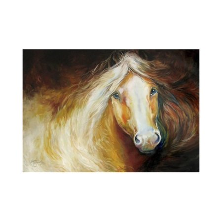 Autumn Breeze Equine Print Wall Art By Marcia Baldwin
