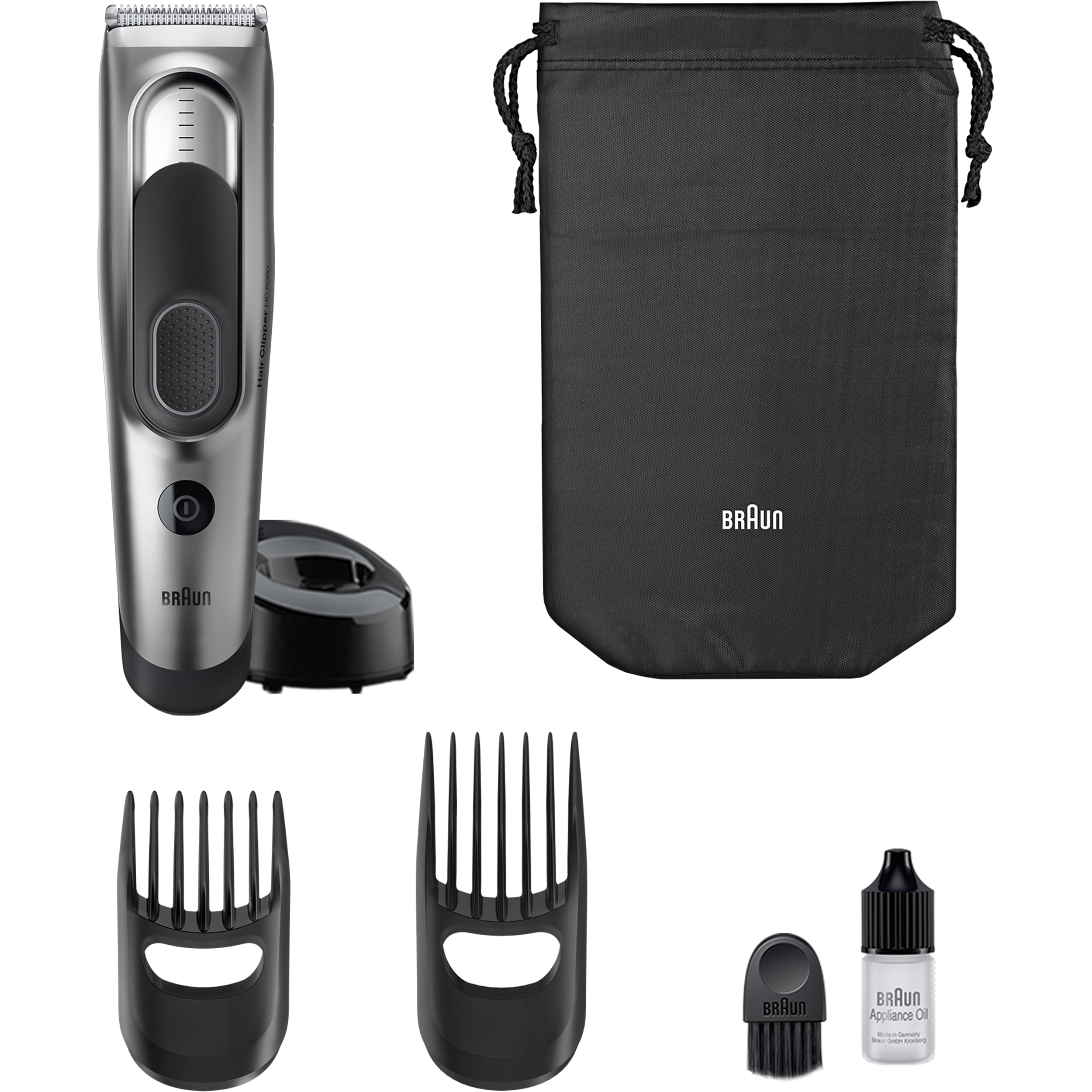 Braun Hair Clipper HC5090 – Ultimate hair grooming experience from Braun in 17 lengths ($5 Rebate Available)