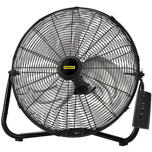 "Lasko 655650 Stanley Max Performance 20"" High Velocity Floor/Wall Mount Fan with Remote Control"