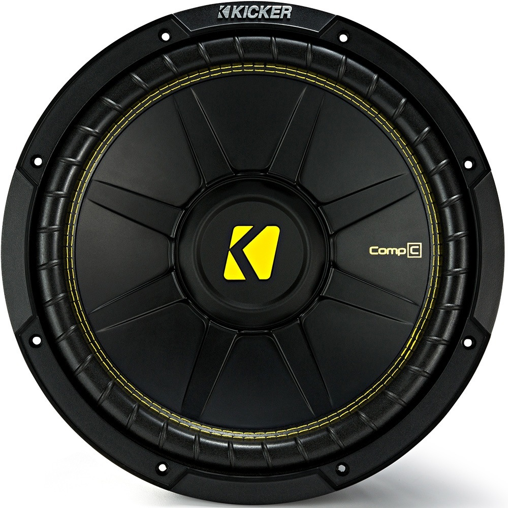 """Kicker CWCD84 (44CWCD84) 8"""" CompC Car Subwoofer"""