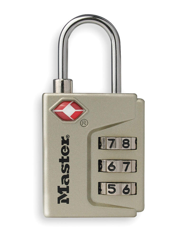 MASTER LOCK Luggage and Briefcase Padlock 4687DNKL