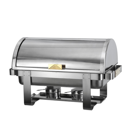 Atosa Gold Accent 8 Qt Roll Top Chafing Dish by