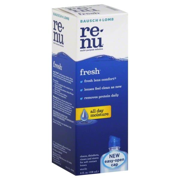 Bausch + Lomb Re-Nu Fresh Multi-Purpose Solution, 4 fl oz