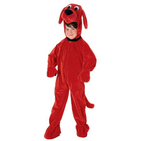 Clifford Big Red Dog Halloween Costumes (Kid's Clifford the Big Red Dog)