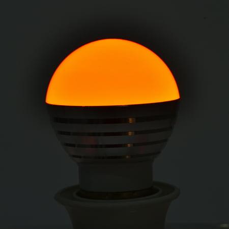 Qiilu E27 3W RGB LED Color Changing Candle Light Lamp Bulb +Remote Control Kit ,RGB Candle Light, RGB LED Color Changing Candle Light - image 1 de 6