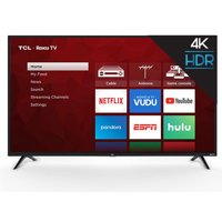 "TCL 50"" Class 4K Ultra HD (2160P) Roku Smart LED TV (50S421)"