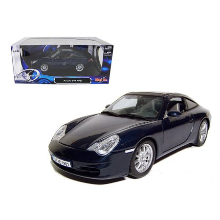 - Porsche 911 Carrera Targa Blue 1/18 Diecast Model Car by Maisto
