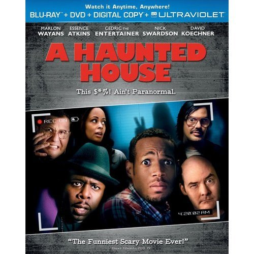 A Haunted House (Blu-ray   DVD   Digital Copy   UltraViolet) (With INSTAWATCH) (Widescreen)