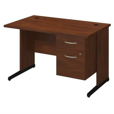 Series C Elite 48W x 30D C Leg Desk with Pedestal in Hansen Cherry - image 1 de 10