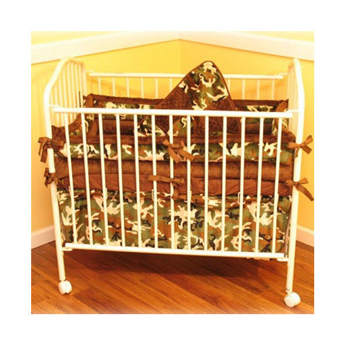 Ozark Mountain Kids Camo Porta 4 Piece Crib Bedding Set