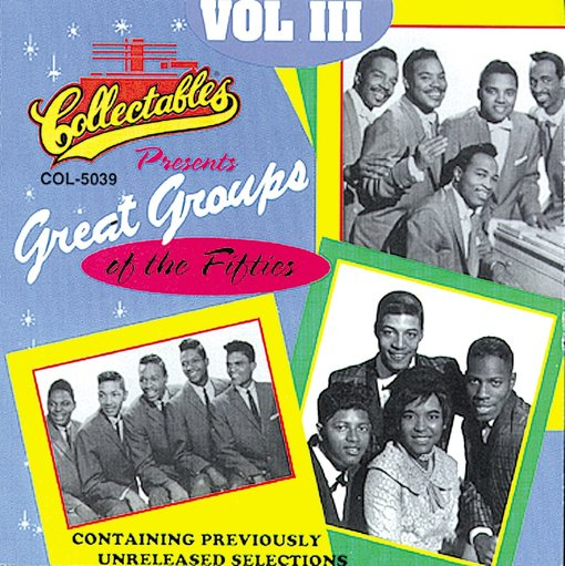GREAT GROUPS OF THE FIFTIES VOL 3